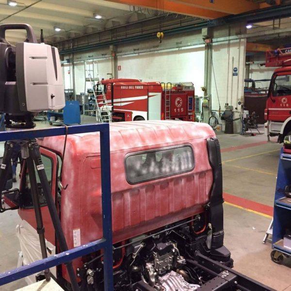 3D cabine veicoli antincendio