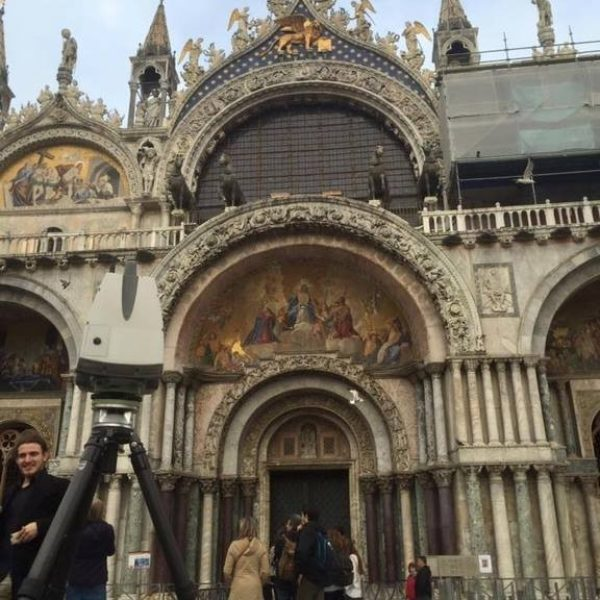 3D entry arch, St Mark's Basilica – Venice